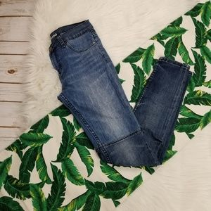 BDG Patchwork Mid rise Twig Jeans